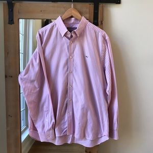 Vineyard Vines Striped Collegiate Button Down